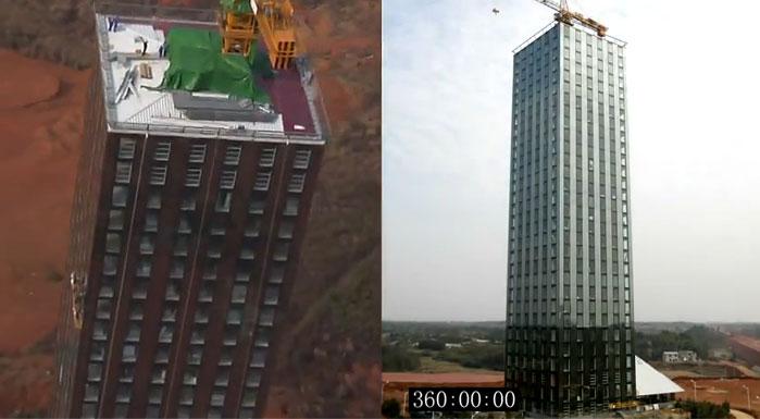 30-этажное здание за 9 дней от BSB