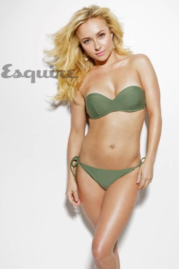Хейден Панеттьер в бикини на съемках январского выпуска Esquire