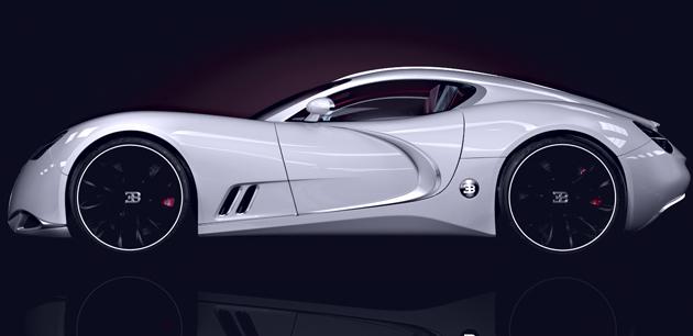 Концепт суперкара Bugatti Gangloff
