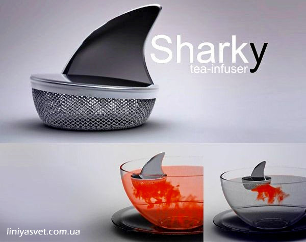 заварник - плавник акулы