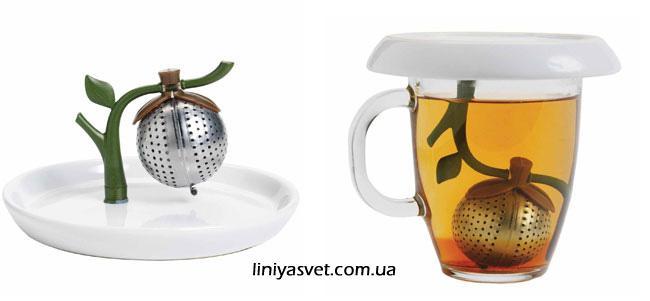 заварник для чая в виде дерева