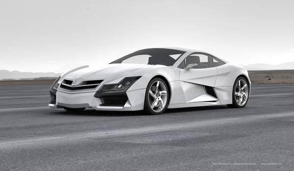Конепт суперкара от Mercedes-Benz