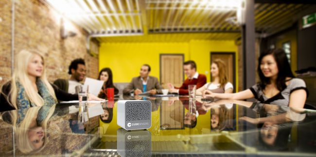 Cube контролирующий все - meeting