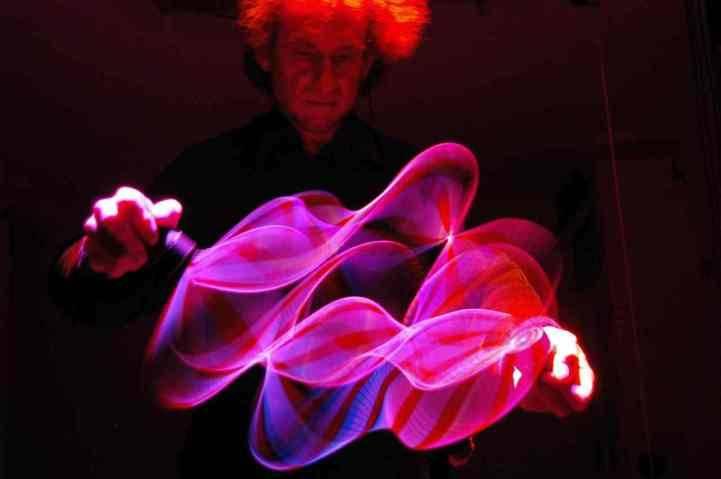 Поль Фриедландер и световые кинетические скульптуры