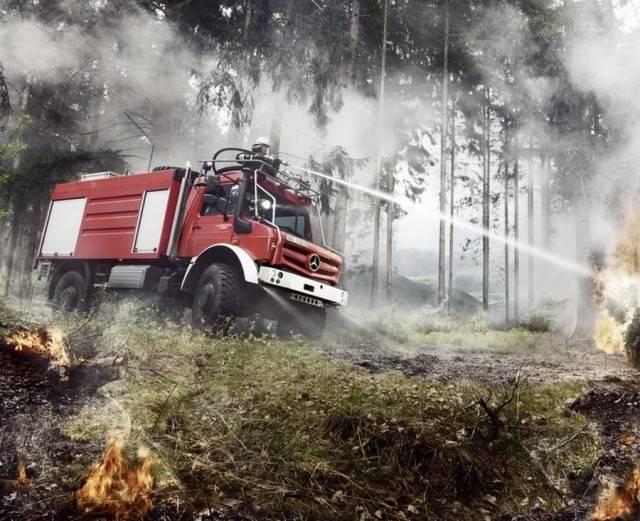 Новое поколение грузовиков Unimog от Mercedes-Benz