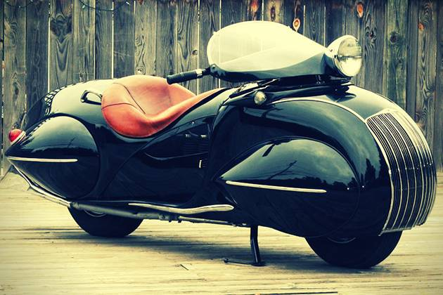 Мотоциклы - KJ Henderson от Рэя Кортни