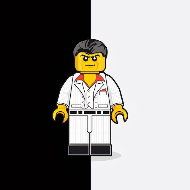 """Проекта """"80-е в LEGO"""" от Дена Шерана"""