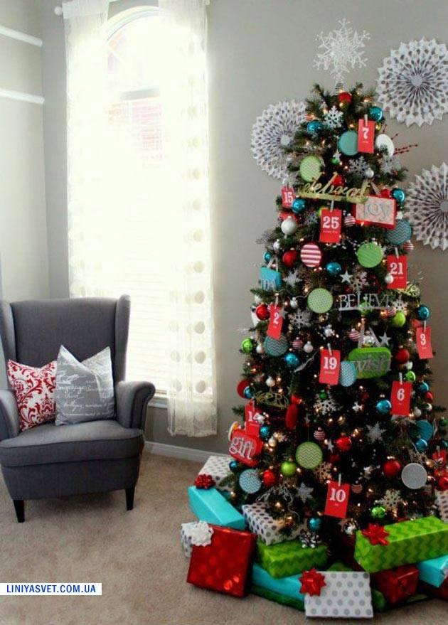 Christmas tree decorations 2015