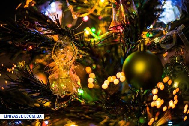 новогодняя елка к рождеству