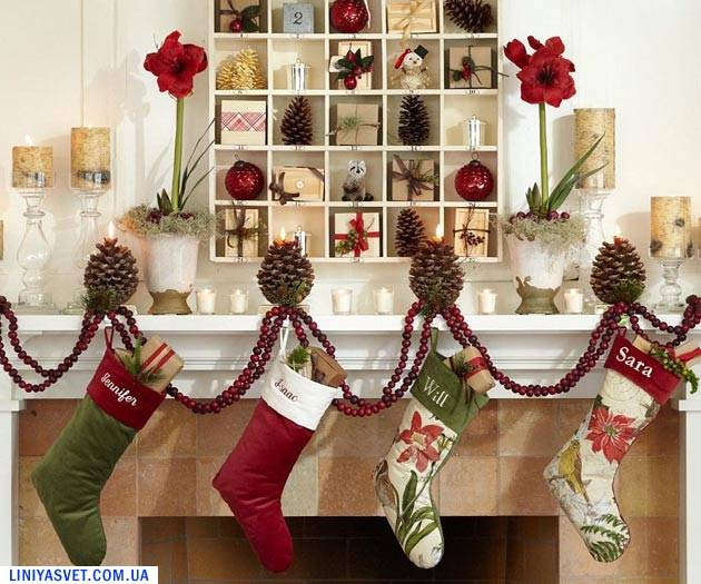 30 идей для украшения дома к праздникам