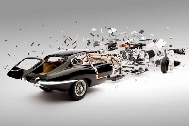 Exploding Cars - Fabian Oefner и его «иллюзия взрыва»