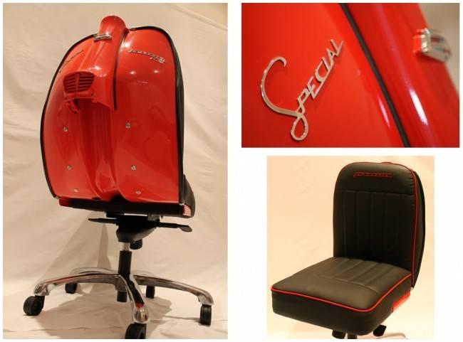 Кресла Lambretta от Iconic Design