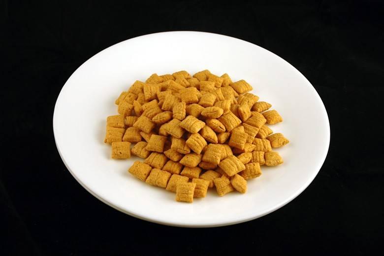 Кукурузные подушечки 60 г = 200 ккал