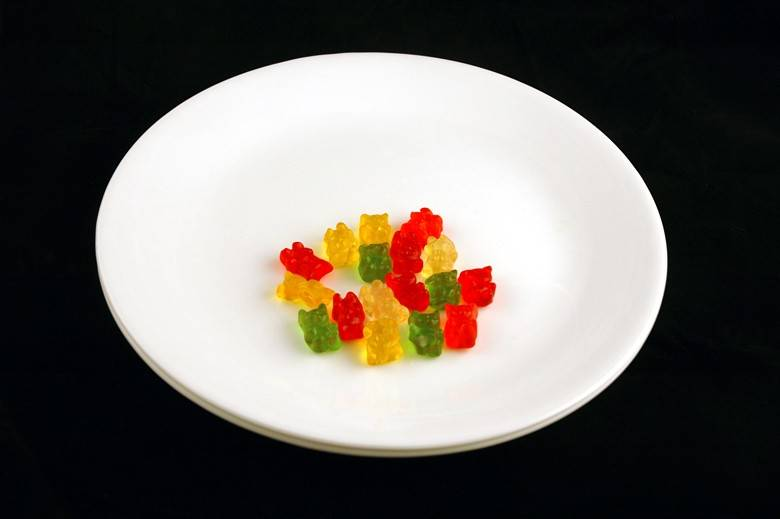 Жевательный мармелад (Gummy Bears) 51 г = 200 ккал