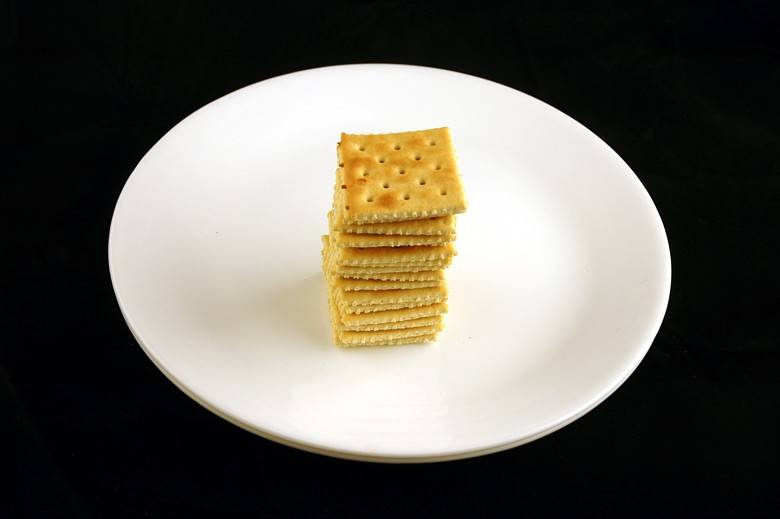 Соленые крекеры Saltines 50 г = 200 ккал
