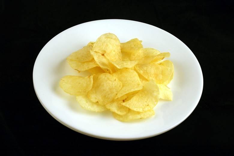 Картофельные чипсы 37 г = 200 ккал