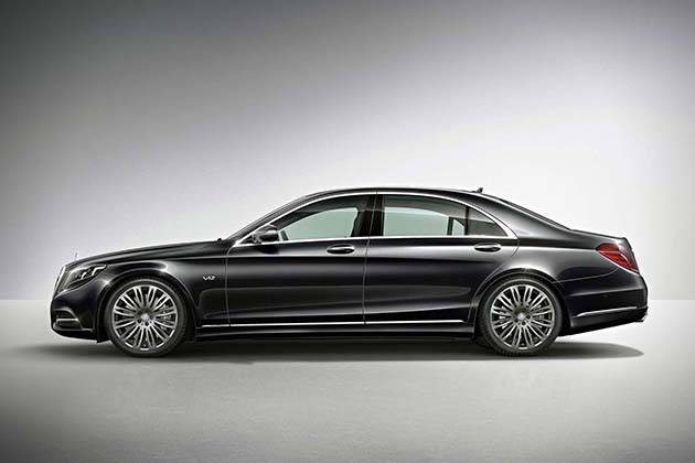 2015 Mercedes-Benz S600 оснащен системой Magic Control Body