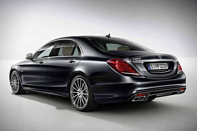 2015 Mercedes-Benz S600 оснащен пакетом Driving Assistance Plus