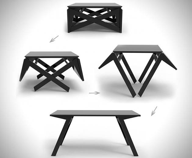 Стол трансформер - MK1 Transforming Coffee Table - раскладной стол