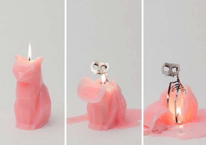 Pyro Pet - свечи что горят для вас