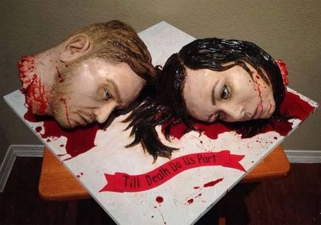 Самый ужасный Свадебный торт