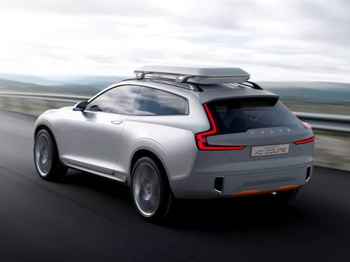 Автопроизводитель Volvo представил концепт кроссовера