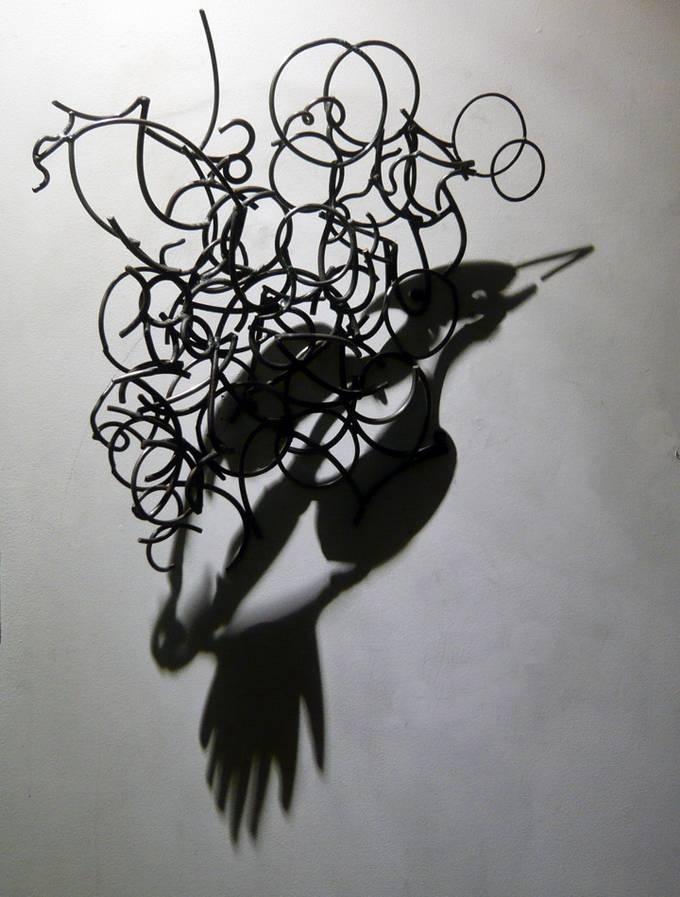 птица из стали и тени от Larry Kagan