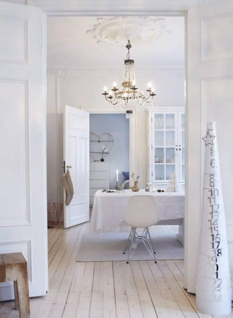 светлый интерьер в скандинавском стиле