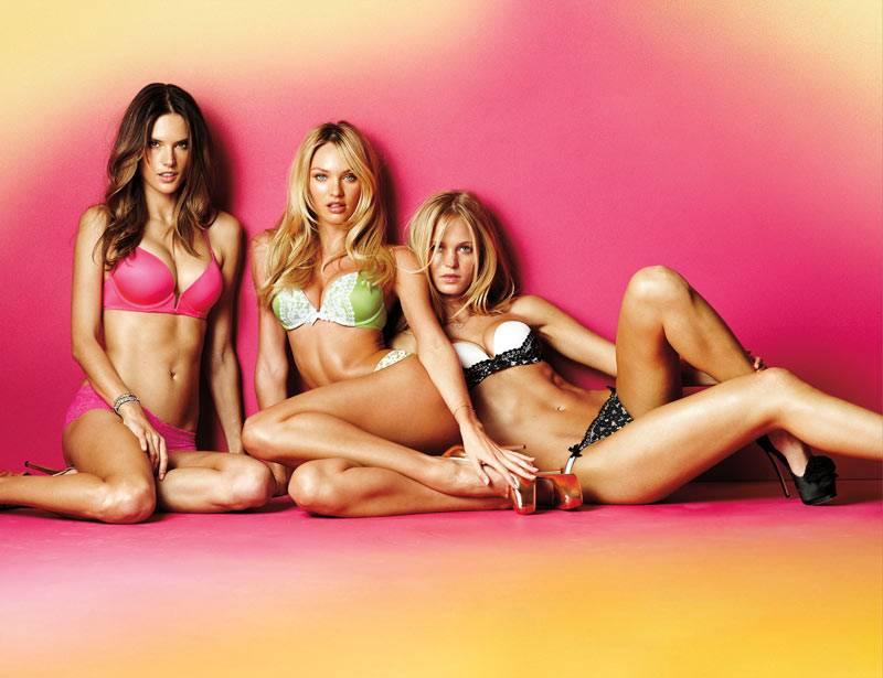 Candice Swanepoel, Alessandra Ambrosio, Lily Aldridge и Erin Heatherton
