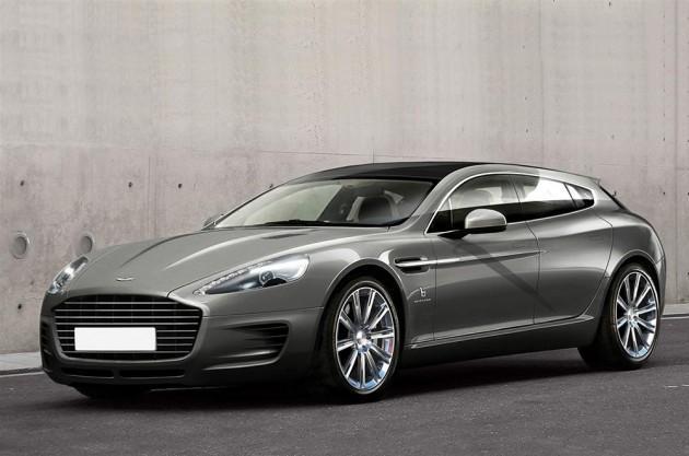 Aston Martin Rapide по имени Jet 2+2