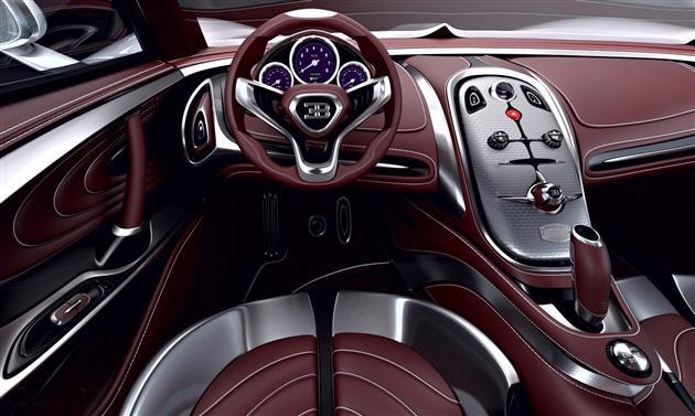 Концепт суперкар Bugatti