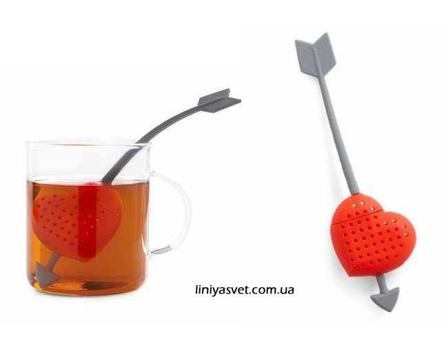 заварник для чая - влюбленное сердце