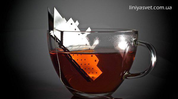заварник для чая в виде кораблика