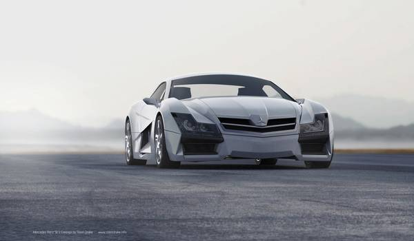 Конепт суперкара от Mercedes-Benz SF1