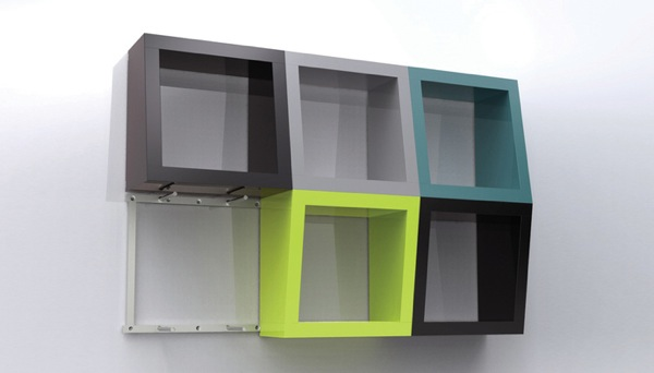 Qubicles - 3D Полки от Monika Juhasz