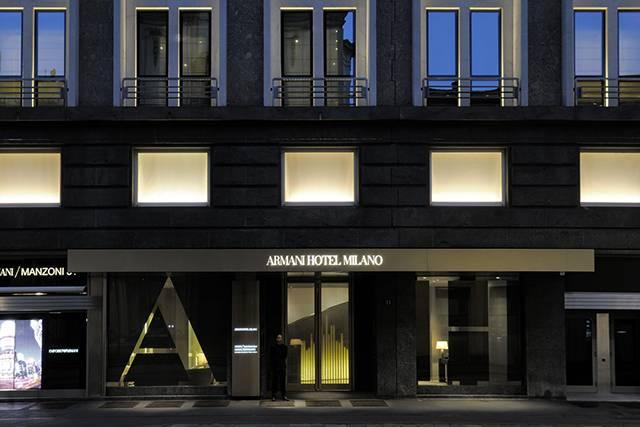 Дизайнерский Armani Hotel Milano