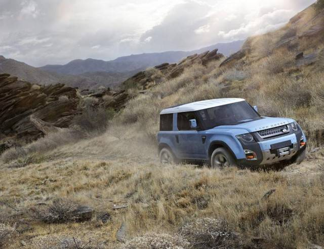 Land-Rover baby SUV