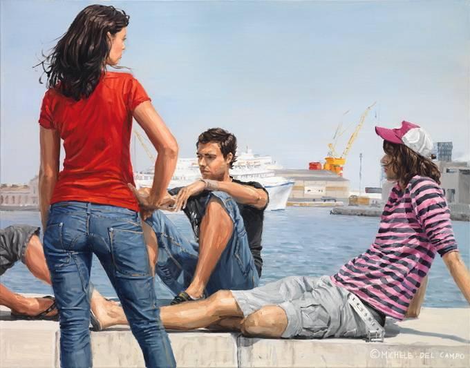 Художник Michele Del Campo
