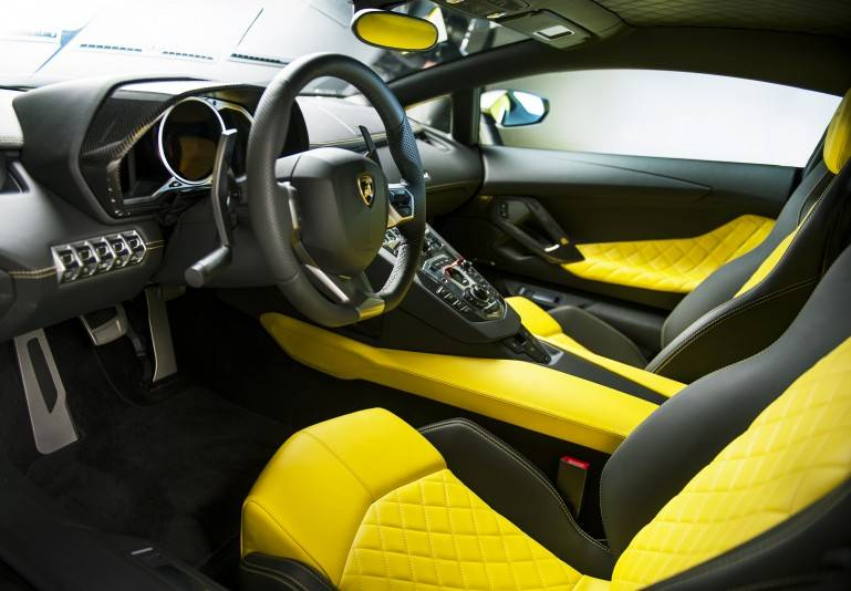 Спорткар Lamborghini Aventador LP720-4 50 Anniversario Edition