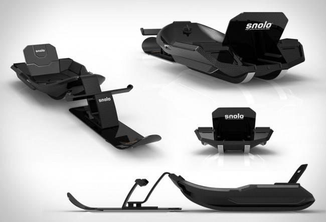 Скоростные санки Snolo Stealth-X