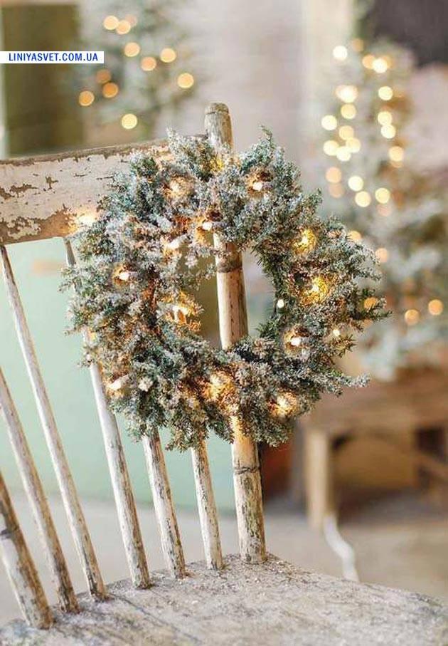 украшения дома к новогодним праздникам