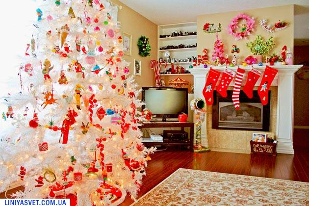 украшения дома к праздникам