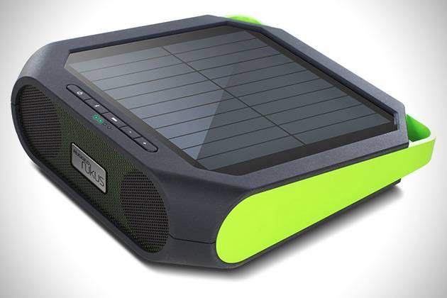ETON RUGGED RUKUS SOLAR-POWERED SOUND SYSTEM