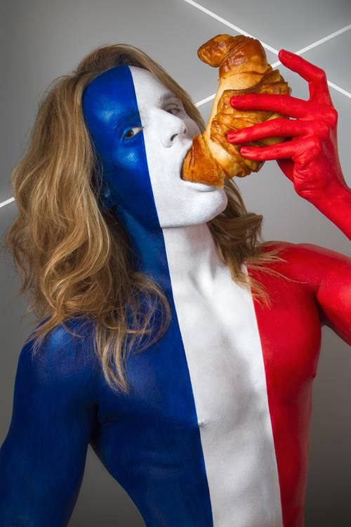 France - Фотосет «Fat Flag» от Джонатана Айсхера