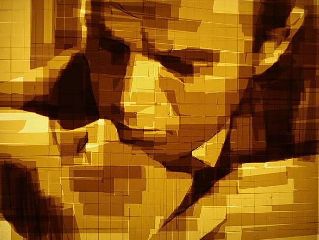 Скотчевые картины от Марка Хайсмана (Mark Khaisman)