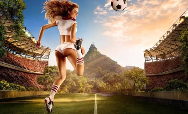 Календарь для Чемпионата мира по футболу 2014 года от Тима Таддера