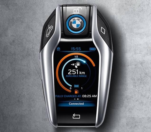 Ключ-брелок BMW i8