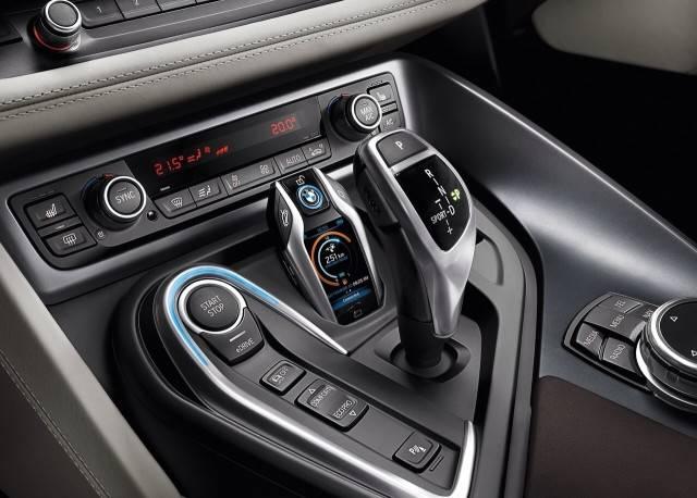 Ключ-брелок с дисплеем для гибрида BMW i8