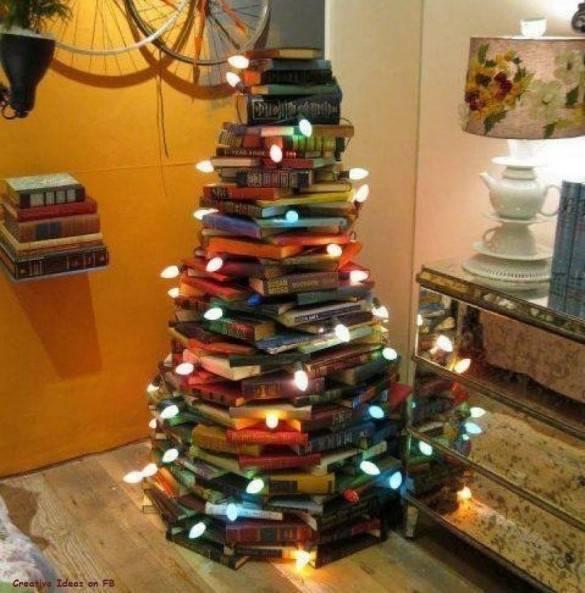 Книжная елка