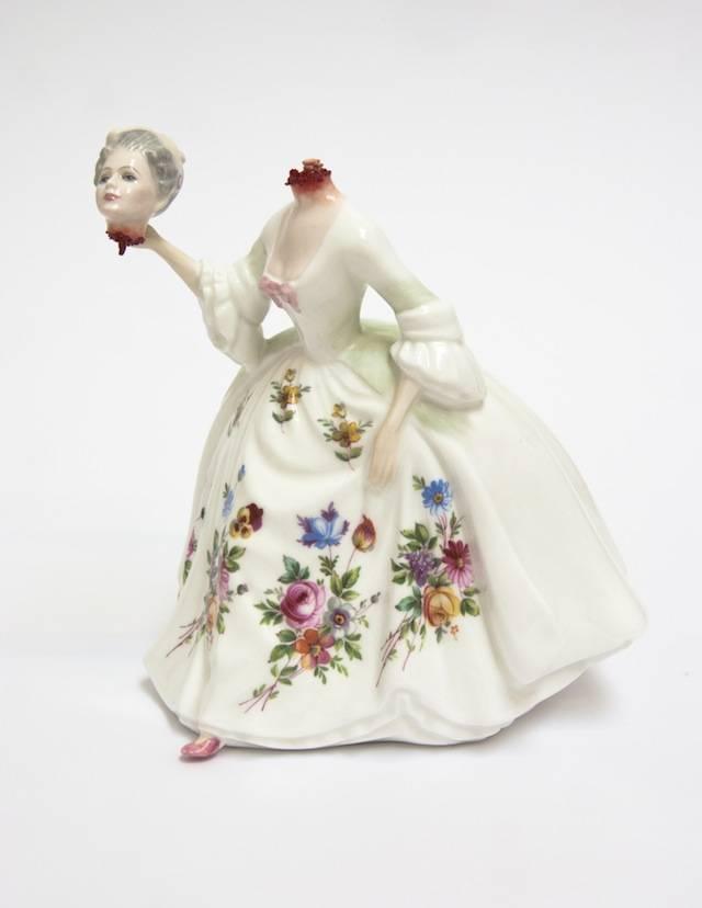 Jessica Harrison - фарфоровые скульптуры